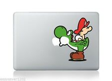 "Mario Vinyl Cute Mac Sticker Skin Decal For Apple Macbook Pro Air 13"" Laptop"