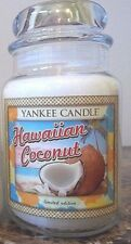 Yankee Candle  Hawaiian Coconut  22 oz 1 Single  Tropical series Limited Edition