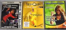 3 x Kickboxen - DVD Paket - Martial Arts Cardio Taiji Thailändisches Boxen