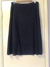 W Lane Skirt Navy Size 12