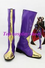 Anime Code Geass Lelouch of the Rebellion Zero Cosplay Shoes Boots Custom Made