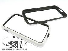 Google Nexus 4 LG960 Case LINE Handy Smartphone Rand Tasche Bumper schwarz weiß