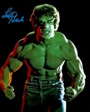 Lou Ferrigno Signed Autographed 8x10 The Incredible Hulk Photograph