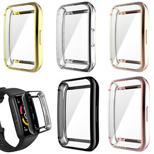 TPU Bumper Case Cover Shell for Huawei Band 6/Band 6 Pro/Honor Band 6 Smartwatch