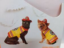 Hyde Eek Boutique X Small Pet Firefighter Set up to 10 lbs Yorkies Malteses cat