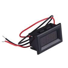 Two Wires Digital Voltmeter Led Display Dc25 30v Voltage Meter