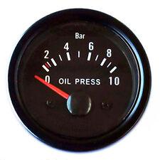 Manometro Pressione Olio Strumento Aggiuntivo Universal Indicatore 52mm Stampa