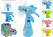Pack de 4 Mini Ventiladores Con Spray De Agua Mano Operado Mini Ventilador COOLAIR Soplador Spray