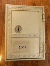 "Brass Post Office PO Box Door 5""x 3.75"""