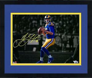 """Framed Jared Goff Los Angeles Rams Autographed 11"""" x 14"""" Spotlight Photograph"""