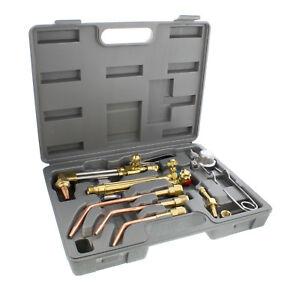 ABN | Oxygen & Acetylene Torch Kit – 10 Pc Welding Kit Metal Cutting Torch Kit