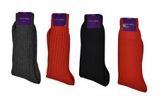 Ralph Lauren Purple Label Cashmere Dress Socks L New $110