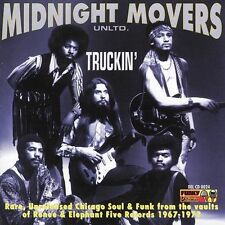Truckin' by Midnight Movers (CD, Jan-2004, Funky Delicacies) SEALED VG