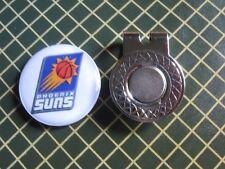 GOLF / Phoenix Suns Logo Golf Ball Marker/with Magnet Hat Clip New!!