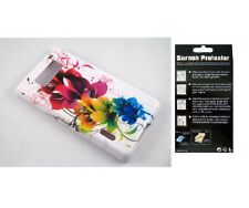 Screen Protector + ColorLily Case for LG Splendor Venice US730 LG730 AS730 LS730