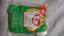McDonalds TY Teenie Beanie Babies scoop Number 8 retired 1998