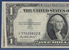 "1935E $1 Sc ""Star"" Error ♚♚Gutter Fold On Face♚♚ Pcgs Ch About New 58"