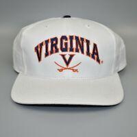 Virginia Cavaliers Twins Enterprise Vintage 90's Back Spell Out Snapback Cap Hat