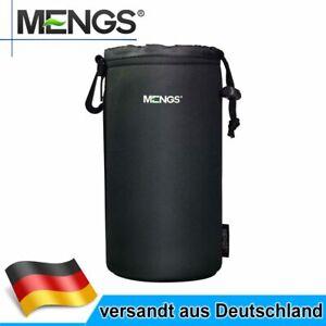 MENGS Neopren Objektivköcher Größe XL Schwarz Tasche Köcher für Kamera Objektive