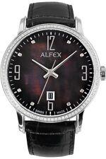 Alfex Damenuhr 5670/785 Quarz Schweizer Qualität UVP 595 EUR
