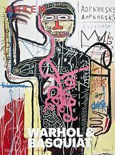 Versus Medici (1982) 2011 Warhol/Basquiat Exhibition Poster Jean-Michel Basquiat