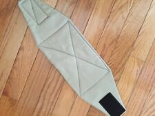 Male dog diaper-belly band-wrap-britches-quilted- KHAKI by angelpuppi