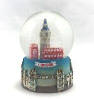 London snow globe, shaker, Big Ben, London Red Bus Red Telephone Box - UK Gift