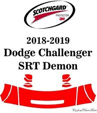 3M Scotchgard Paint Protection Film Pre-Cut 2018 2019 Dodge Challenger SRT Demon
