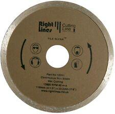 2 Diamond Disc Tile Cutting Blades For Plasplugs DWW110 110 mm Wet Saw Cutter.