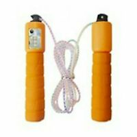 Orange Kids Skipping Rope With Counter Children Exercise,Fitness Activity