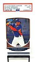 2013 Bowman Chrome RC Astros GEORGE SPRINGER Rookie Baseball Card PSA 9 MINT