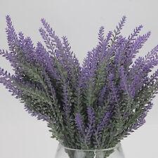 Hot 25 Heads  Beauty Fake Silk Lavender Flower Wedding Office Party Decor