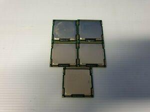 Intel Core i5-760 CPU Quad-Core 2.80GHz / 8MB LGA1156 SLBRP Processor Lot of 5