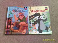 Disney's The Hunchback of Notre Dame & The Jungle Book  Gronier hardback books