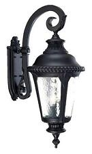 Acclaim 7222Bk Surrey Collection 3 Light Wall Mount Outdoor Light Fixture Black