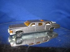 cadillac majorette #339 1/58 display loose  Car Stretch Limousine limo SILVER