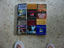 # 3 - 6 HEATHER GRAHAM ROMANCE BOOKS NO DOUBLES FREE SHIPPING