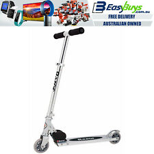 Scooter Push Kick Adjustable Height Foldable Go Scoot Kickboard Aluminium Razor