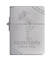 Zippo Windproof Replica 1935 Lighter Zippo Lady, Windy Circa 1935, New In Box