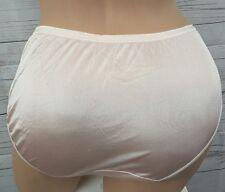 Vintage Adonna shimmery pink Sheer Nylon Bikini Panties Briefs Size 7
