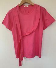 Comme Des Garcons Women's Tops Unique T-Shirts Pink Free Ship Excellent #0261
