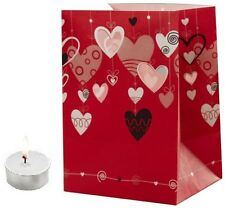 CANDLE BAGS LOVE AND HEARTS - 5 Pack