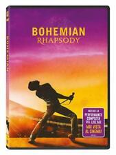 Bohemian Rhapsody (dvd) biografico Musicale Freddie Mercury e I Queen