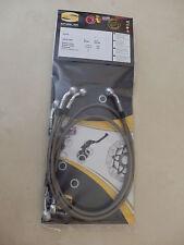 GSX R 1000 K3 K4 WVBZ SPIEGLER STAHLFLEX vorne & hinten ABE brake hose GSX-R