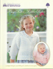 "Paton's ""Big Sister, Little Sister"" patterns for girls book 576EE"