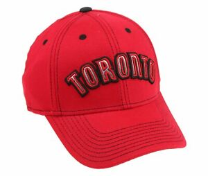 Adidas NBA Men's Toronto Raptors Structured Team Arc Flex Hat