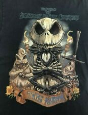 Tim Burtons Nightmare Before Christmas Tiki KIngdom L T Shirt Jack Skelington