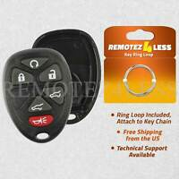 for Buick Cadillac Chevy GMC Keyless Remote Car Entry Key Fob Shell Case 6b SUVs