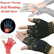 Magnetic Anti Arthritis Health Compression Therapy Gloves Rheumatoid Hand New