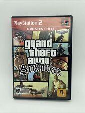 New listing Grand Theft Auto: San Andreas Ps2 (Sony PlayStation 2, 2004) Gta